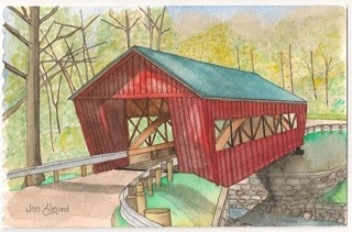 Bridge of Morgan County - Helmick Mill